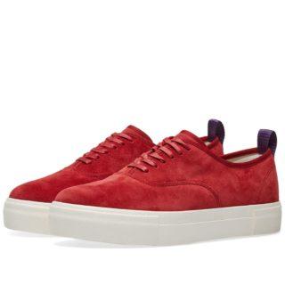 Eytys Mother Suede Sneaker (Red)