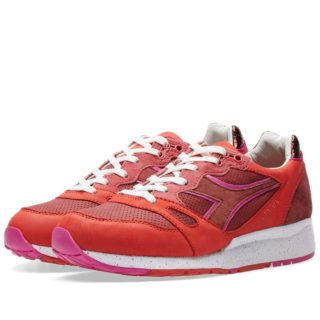 Diadora x The Good Will Out S8000 'Nerone' (Red)