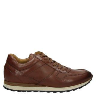 Greve lage sneakers cognac