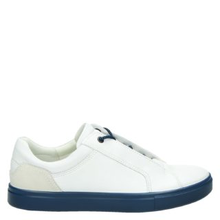 Ecco Kyle lage sneakers wit