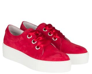Roberto d'Angelo Sneaker Leeds (Rood)
