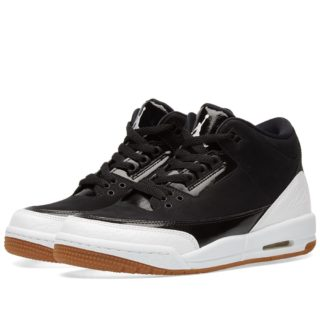 Nike Air Jordan 3 Retro GS (Black)