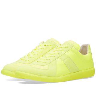 Maison Margiela 22 Fluro Replica Sneaker (Yellow)
