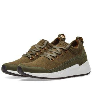 Buscemi Run1 Sneaker (Green)