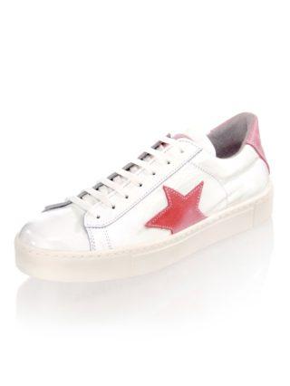 Sneaker Alba Moda wit/pink