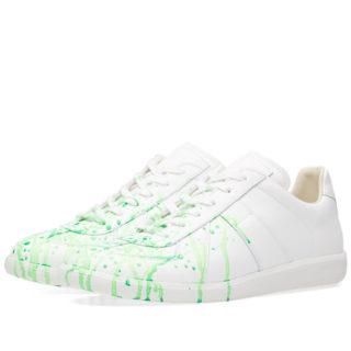 Maison Margiela 22 Fluro Painter Replica Sneaker (White)