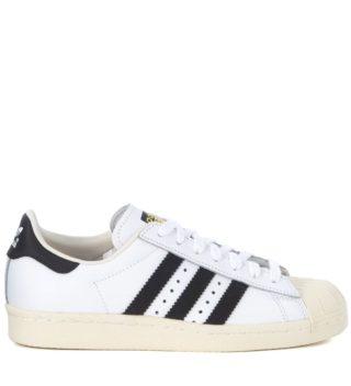 Adidas Originals Adidas Superstar Boost White Leather Sneaker (wit)