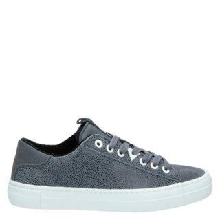 Hub lage sneakers blauw