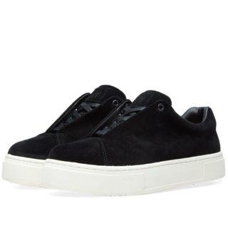 Eytys Doja Suede Sneaker (Black)
