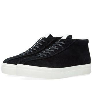 Eytys Mother Mid Suede Sneaker (Black)