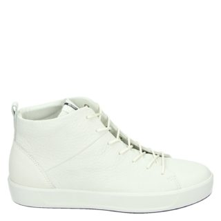 Ecco Soft 8 hoge sneakers wit