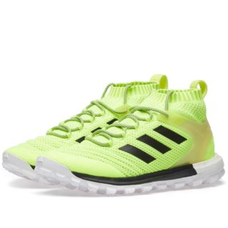 Gosha Rubchinskiy x Adidas Copa Primeknit Boost Mid Sneaker (Yellow)