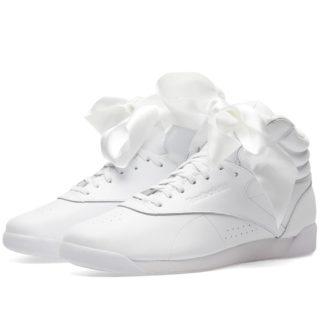 Reebok Freestyle Hi Satin Bow W (White)