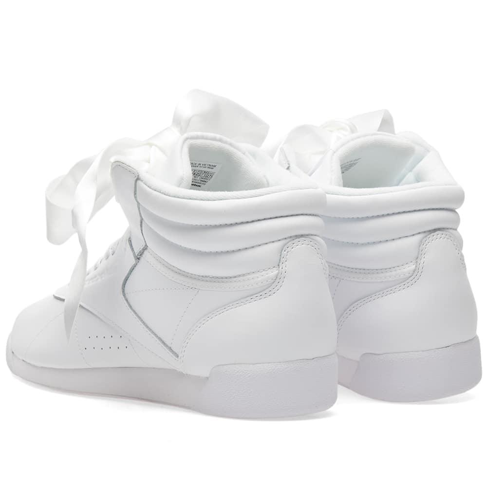 71523f31ea5 Reebok Freestyle Hi Satin Bow W (White) | CM8903 | Reebok