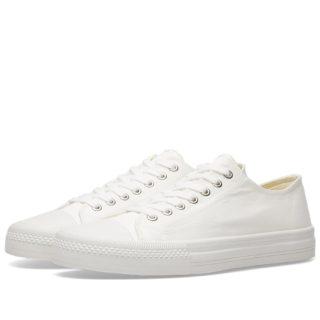 Junya Watanabe MAN Cotton Twill Sneaker (White)