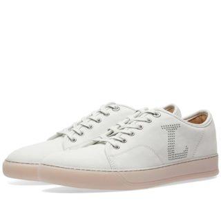 Lanvin Toe Cap Logo Sneaker (Grey)