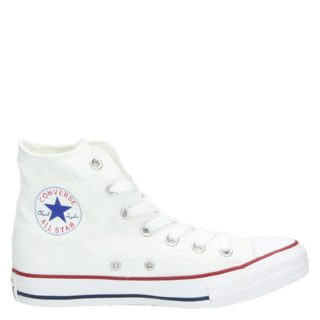 Converse All Star Hi hoge sneakers wit