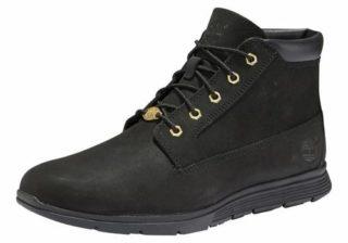 TIMBERLAND Dames Sneakers hoog ´Killington 4-Eye Chukka´ goud / zwart