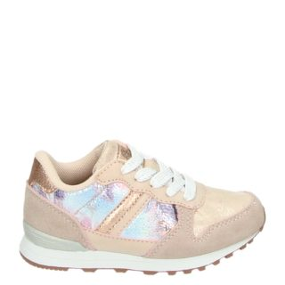 Orange Babies lage sneakers rose goud