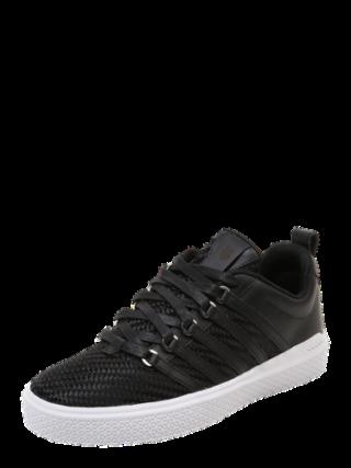 K-SWISS Heren Sneakers laag ´Donovan WVN´ zwart / wit