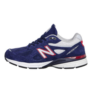 New Balance M990 BR4 (Made In USA) (zwart/rood)
