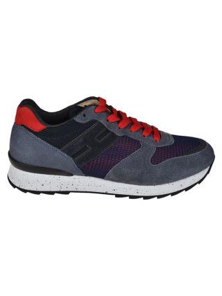 Hogan Hogan Running R261 Sneakers (blauw/rood)