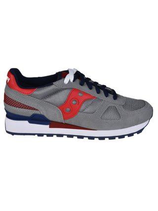 Saucony Saucony Shadow Original Sneakers (grijs/rood/blauw)