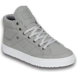 Cash Money Heren Schoenen – Heren Sneaker Mid High – Grey White