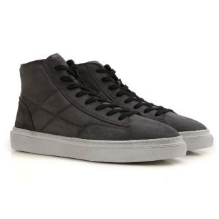 Hogan Mens H340 Hogan Sneakers (grijs)