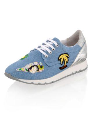 Sneaker Alba Moda denim/multicolor