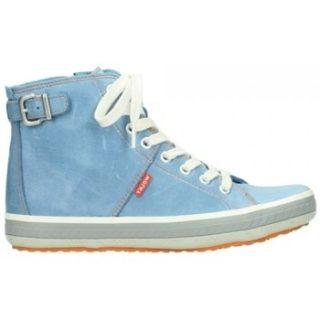 Wolky 01225 Biker – 30840 jeans blauw leer