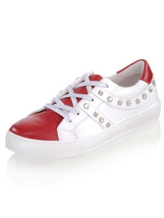 Sneaker Alba Moda rood/wit