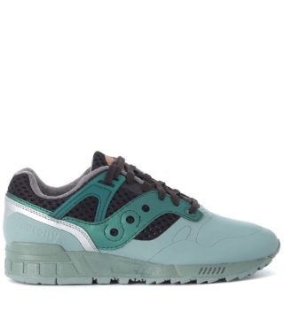 Saucony Saucony Grid Sd Ht Black And Water Green Sneaker (groen)