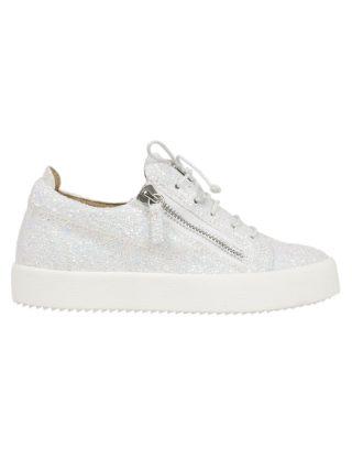 Giuseppe Zanotti Giuseppe Zanotti Cheryl Glitter Sneakers (wit)