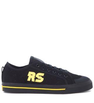 Raf Simons Adidas X Raf Simons Spirit Black Canvas Sneaker (zwart)