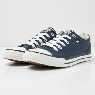 British Knights master lo men's low-top sneaker (blauw)
