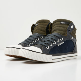 British Knights dee men's high-top sneaker (blauw)