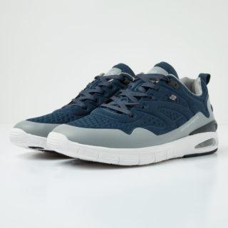 British Knights demon men's low-top sneaker (blauw)
