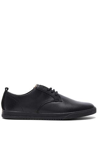 Clae Ellington Leather in Black