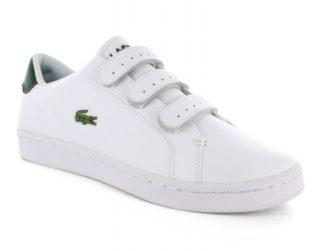 Lacoste Camden New Cup Wit Lederen Sneaker (Wit)