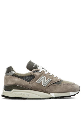 New Balance Made in USA M998 in Gray