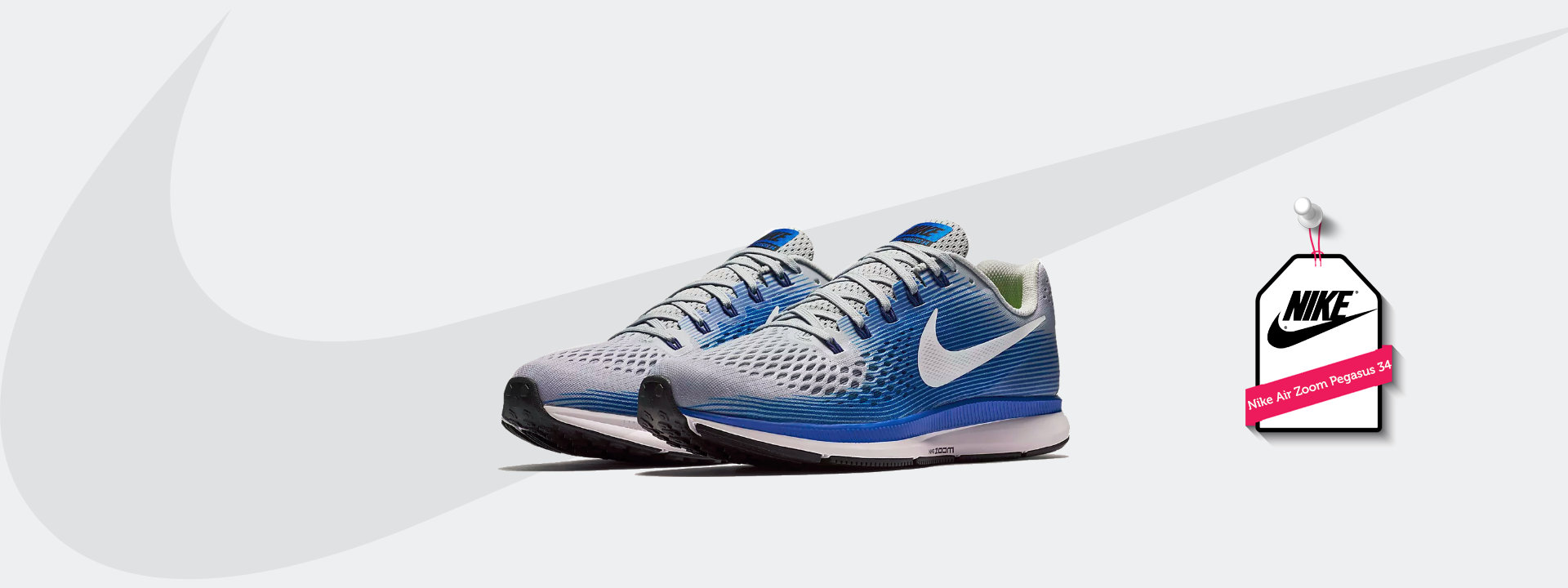 nike air zoom pegasus 34 heren zwart