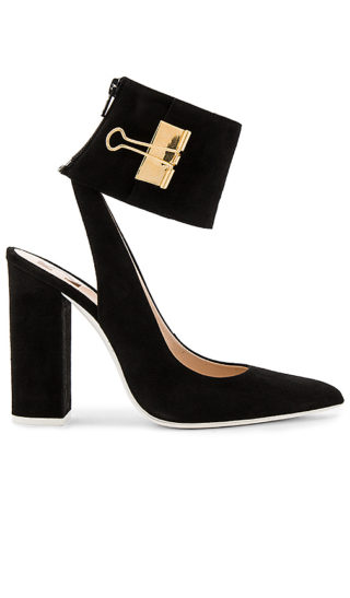 OFF-WHITE Pump Big Heel in Black