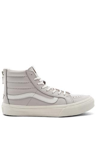 Vans SK8-Hi Slim Zip Sneaker in Lavender