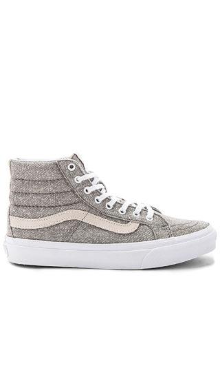 Vans Sk8-Hi Slim Sneaker in Gray