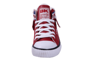 British Knights roco women's high-top sneaker (rood)