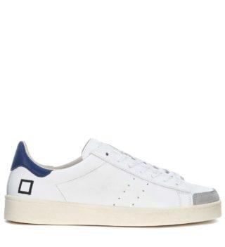D.A.T.E. D.a.t.e. Twist White Leather And Suede Sneaker (wit)