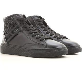 Hogan High-top Sneakers H342 (zwart)