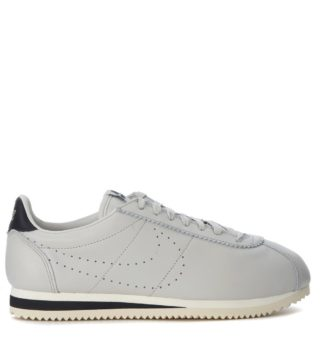 Nike Nike Classic Cortez Leather Premium Light Grey Leather Sneakers (grijs)
