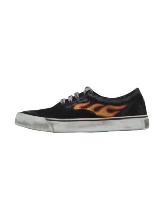 Palm Angels Palm Angels Flame Sneaker (zwart)